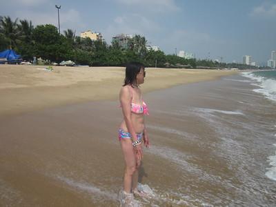 October 18 - Nha Trang beach
