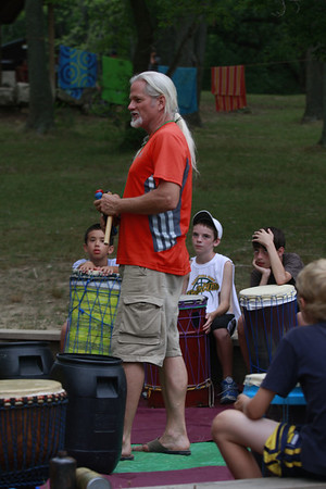2012 Running Camp Drum Circle