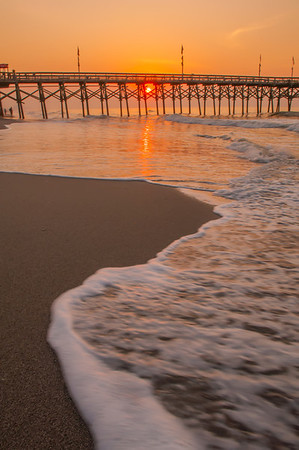 morning at  Myrtle Beach South Carolina
