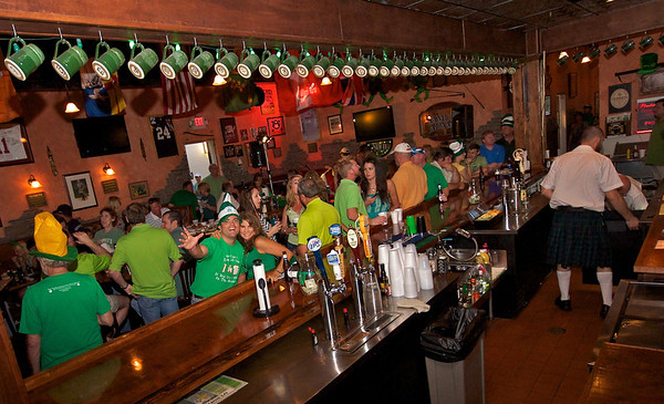 St. Patrick's Day at Choppers