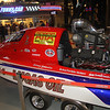 Cool speed boat at Lucas Oil