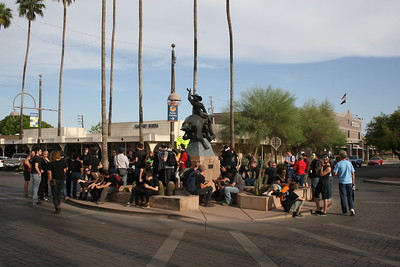 05-01-2012 May Day Protest in Scottsdale