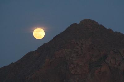 05-05-2012 Super Moon Over Camelback Mountain