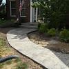 new sidewalk to front door