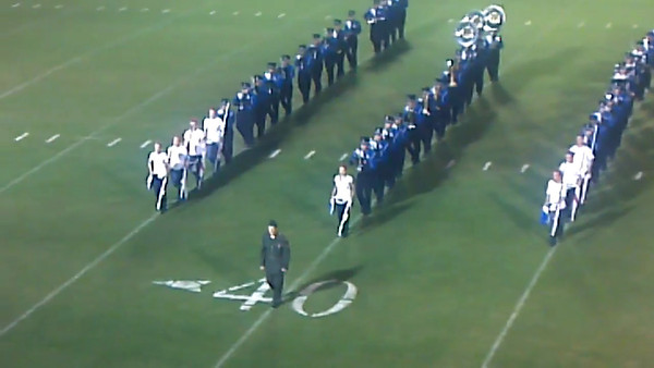 08-31-2012 Videos of LA Band at Smith County Game