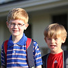 Best buds first day of school!