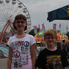Kids on midway at 2012 Indiana State Fair