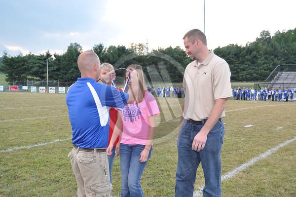 09-27-2012 Jr. Wildcats 8th Grade Night