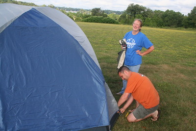 a. Pitching Tents