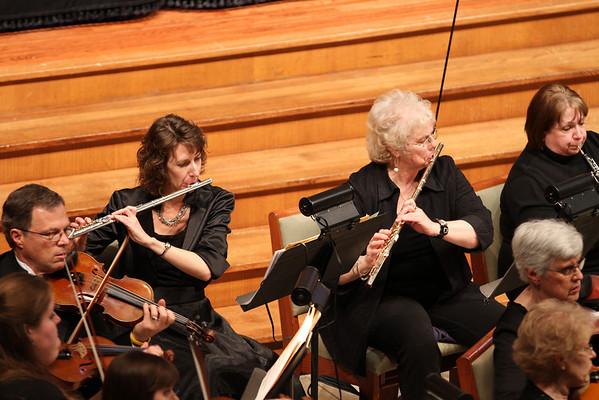Ellen Flute Playing