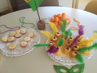 Marti Gras in front office