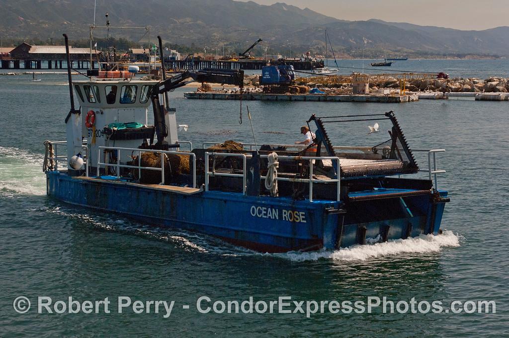 vessel kelp cutter Ocean Rose 2012 04-06 SB Harbor-001