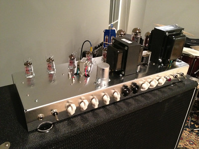 The completed amp