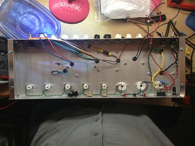 Heater wiring installed