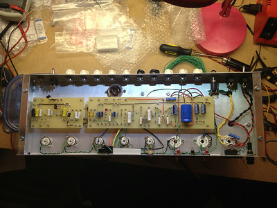 Boards installed in the chassis