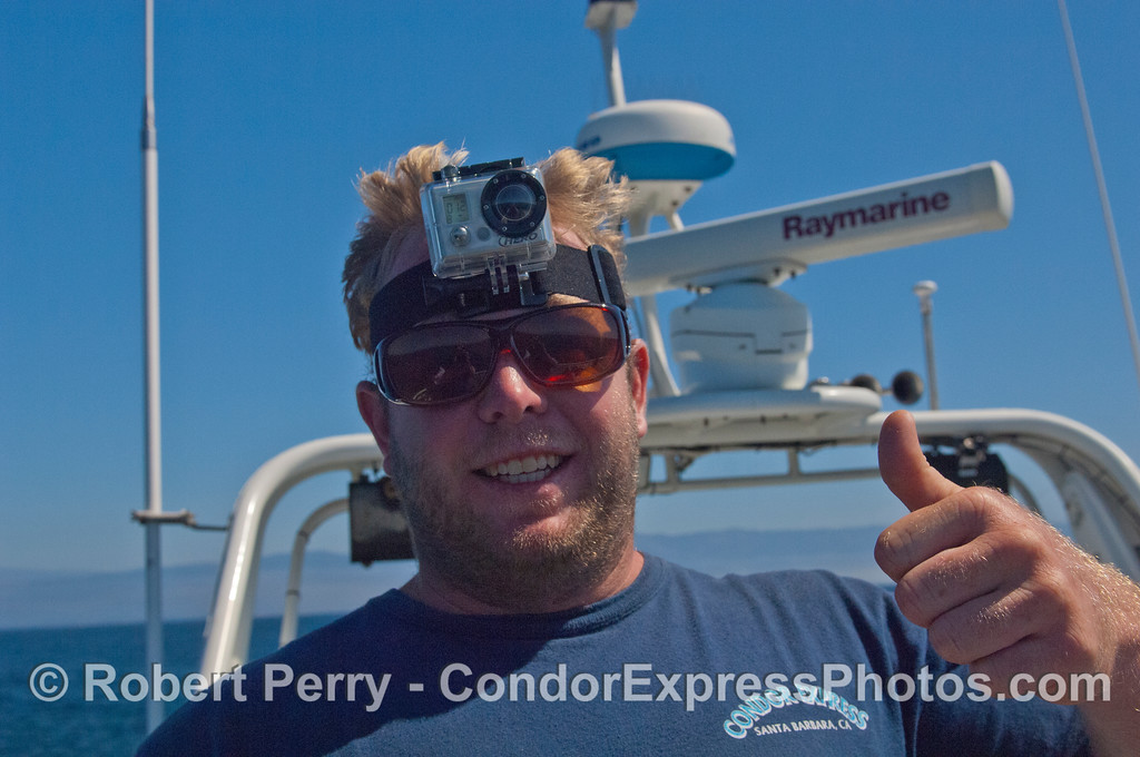 Deckhand and GoPro photographer, Matt.