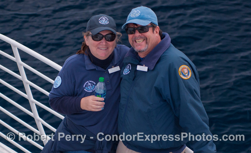 Husband and wife naturalists, Karen & Gary Sullivan, CINC.