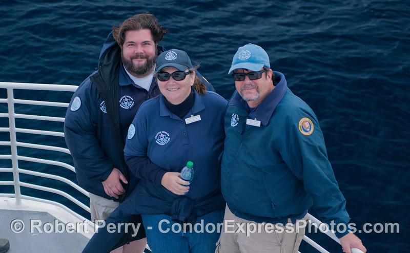 Naturalists Scott Cuzzo, Karen & Gary Sullivan, CINC.