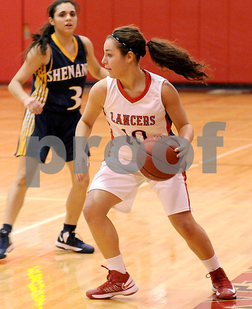 Courtney Caughey-Stambul/NEWS<br /> Katie Burrelli makes a move for Neshannock.
