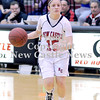Courtney Caughey-Stambul/NEWS<br /> New Castle's Dana Perrotta looks to make a move for the Lady 'Canes.