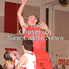 Erica Galvin/NEWS<br /> Ryan Sager shoots over the Neshannock defense in the first half.