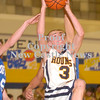 Erica Galvin/NEWS<br /> Wilmington's Rocco Fagan goes up for a shot in the third quarter.