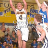 Erica Galvin/NEWS<br /> Wilmington sophomore Travis Brumbaugh shoots a lay-up in the first half.