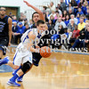 Courtney Caughey-Stambul/NEWS<br /> Union's Joe Salmen powers his way down the court against Lincoln Park.