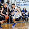 Courtney Caughey-Stambul/NEWS<br /> Union's Joe Salmen guards Lincoln Park's Maverick Rowan.