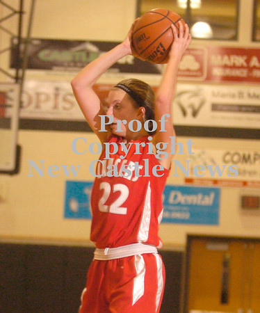 Erica Galvin/NEWS<br /> Neshannock's Tayler Grybowski passes to a teammate in the third quarter.