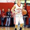 Courtney Caughey-Stambul/NEWS<br /> Ernie Burkes brings the ball up the floor for Neshannock.