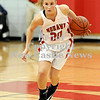 Courtney Caughey-Stambul/NEWS<br /> Shelby Brown handles the basketball for Mohawk last night at home against Neshannock.