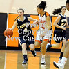 Courtney Caughey-Stambul/NEWS<br /> Wilmington's Cassidy Marett makes a move against Sharon's Kristina Jacoway.