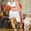 Erica Galvin/NEWS<br /> Lucas Grim passes to a team mate down the court in the fourth quarter.