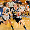 Courtney Caughey-Stambul/NEWS<br /> Wilmington's Cassidy Marett drives to the hoop against Laurel's Kristin Dicks.