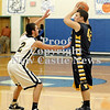 Courtney Caughey-Stambul/NEWS<br /> Shenango's Shaun Conner searches for an open teammate as Wilmington's Jesse Hilliard defends.