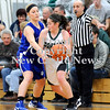 Courtney Caughey-Stambul/NEWS<br /> Laurel's Brooke Dicks looks to make a move past Union's Christina Noble.