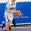 Courtney Caughey-Stambul/NEWS<br /> Union's John Hilke handles the basketball.
