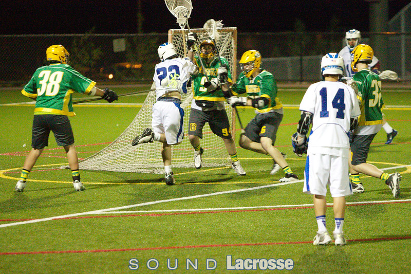 Zach Traynor denying the game-tying goal late in the 4th Quarter against No.1 Seattle Prep