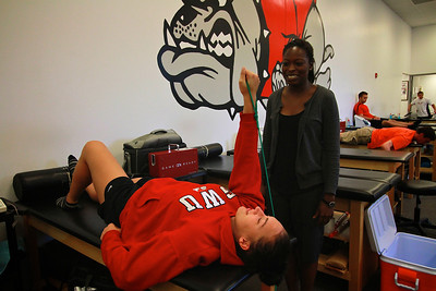 Athletic Training for Webb Magazine Fall 2012