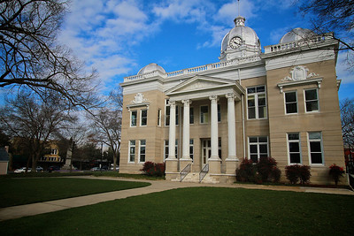 Photos of notable places in Boiling Springs and Shelby near Gardner-Webb University.  Cleveland County Courthouse, now becoming a Museum.