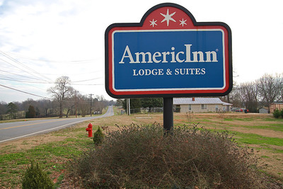 Photos of notable places in Boiling Springs and Shelby near Gardner-Webb University.  AmericInn