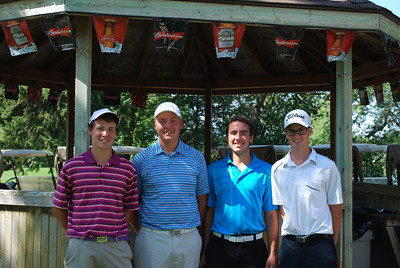 Niakwa, Junior Men's Interclub Brett Roeland, PJ McIvor, Zach Andreychuk & Nick Coldwell