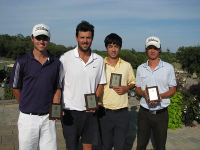 Southwood, Provincial  Men's Interclub Bryce Barr, Teale Merkeley, Burke Wiebe & Charlie Boyechko