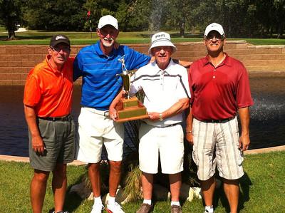 Bel Acres, Senior Men's Interclub Barry Jones, Mike Pigden, Lew Walker & Brain Miller