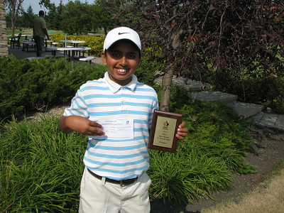 Sudarshan Yellamaraju 12 & Under Age Group Winner