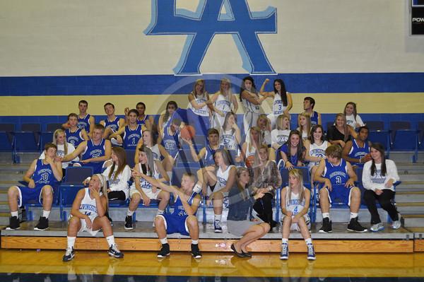2012 LIvingston Academy Basketball
