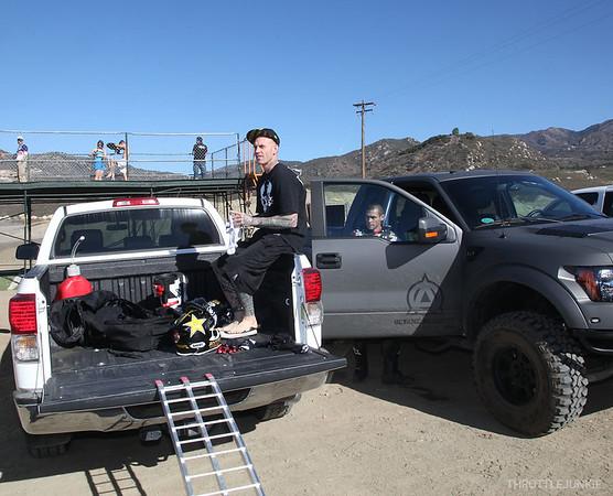 2012 Metal Mulisha Jermery Lusk ride day at Pala