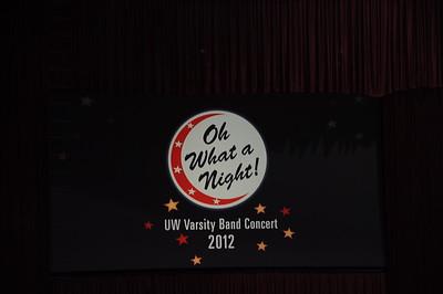 2012 Varsity Band Concert