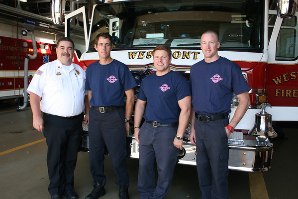2012 Westmont Fire Department Breast Cancer Awareness Campaign